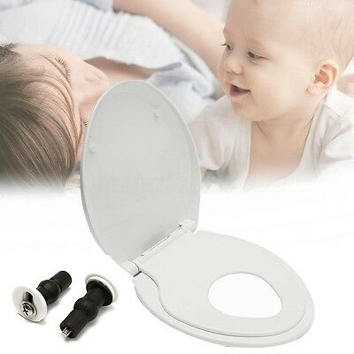 Modern Kids Toddler Adult 2 in 1 Toilet Seat Chair Cover Family Potty Training