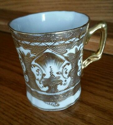 1940's Imperial Gold Gilded Seto Yaki Okan cup