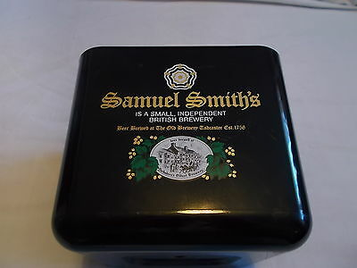 Samuel Smith's Ice Bucket Black Plastic The Old Brewery Pub Tadcaster Yorkshire