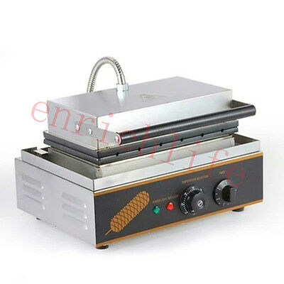 New Commercial electric muffin French hot dog making machine,waffle machine