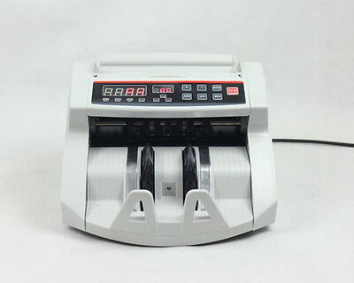 2108 UV MG Digital Display Money Counter for EURO US DOLLAR Bill Cash Counting