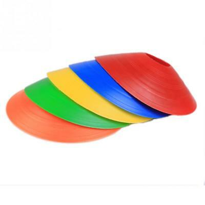 New 5 Colors Disc Cones Soccer Football Field marking Coaching Training Agility