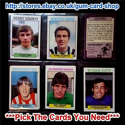 A&Bc 1971 Purple Back 1St Series (Good 55 To 109) *Pick The Cards You Need*