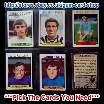 A&Bc 1971 Purple Back 1St Series (G/F) 1-109 *Pick The Cards You Need*