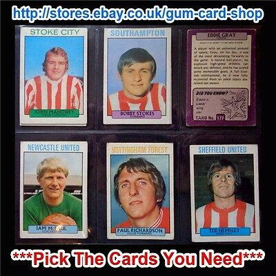A&Bc 1971 Purple Back 2Nd Series (G/F) 165 To 219 *Pick The Cards You Need*