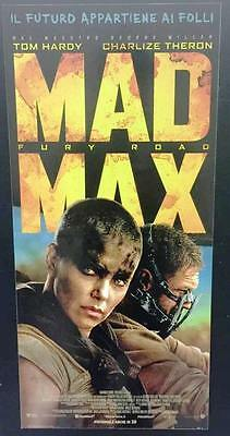 MAD MAX FURY ROAD Locandina Originale italiana 33X70