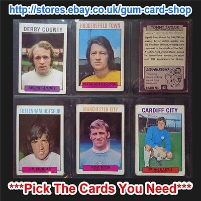 A&Bc 1971 Purple Back 1St Series (Fair) 55 To 109 *Pick The Cards You Need*