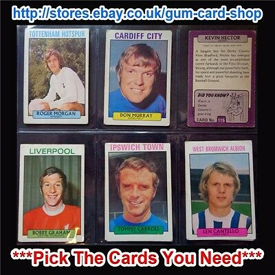 A&Bc 1971 Purple Back 2Nd Series (Fair) 110 To 164 *Pick The Cards You Need*