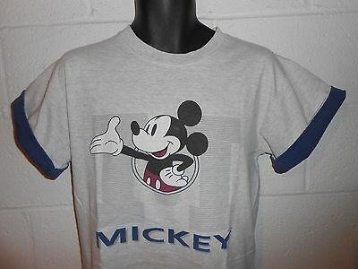 Vintage Gray Mickey Mouse T-Shirt S