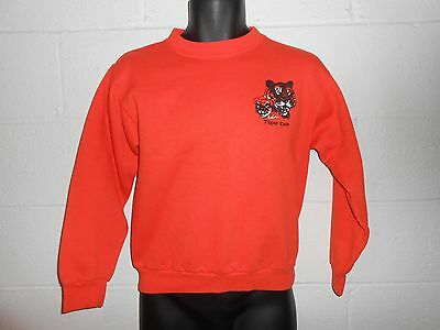 Vintage 80s Cub Scouts Tiger Cub Crewneck Sweatshirt Youth XL