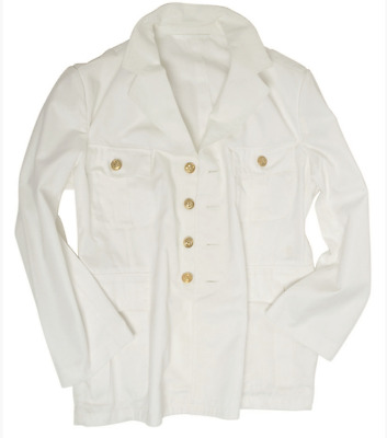Germany Army Surplus White Uniform Jacket