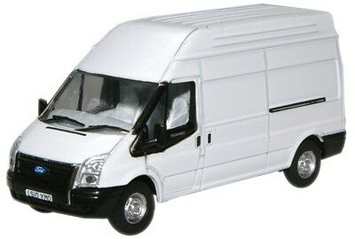 Bnib Oo Gauge Oxford 1:76 76Ft006 Ford Transit Van White Lwb High Top