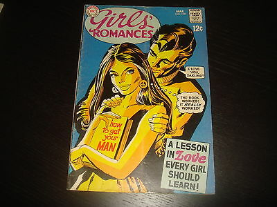 GIRLS' ROMANCES #139  Young Love Stories Silver Age DC Comics 1969 VG/FN