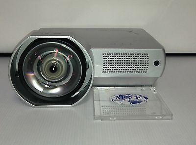 Sanyo Ultra Short Throw 2000 Lumens Projector New Lamp Hdmi