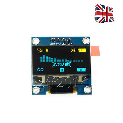 "128X64  0.96"" I2C IIC SPI Serial OLED LCD LED Display Module For Arduino  UK"
