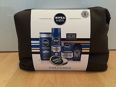 Nivea Men Prepared Gift Set - NEW