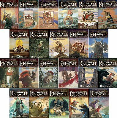 Redwall Fantasy Books Complete 22 Book Set BRAND NEW PAPERBACK LOT Brian Jacques