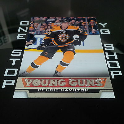 2013 14 Ud Young Guns 202 Dougie Hamilton Rc Mint +Free Combined S&h