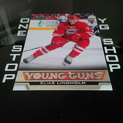 2013 14 Ud Young Guns 469 Elias Lindholm Rc Mint/nrmnt +Free Combined S&h