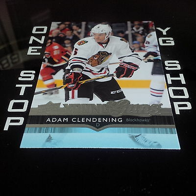 2014 15 Ud Young Guns 481 Adam Clendening Rc Mint +Free Combined S&h