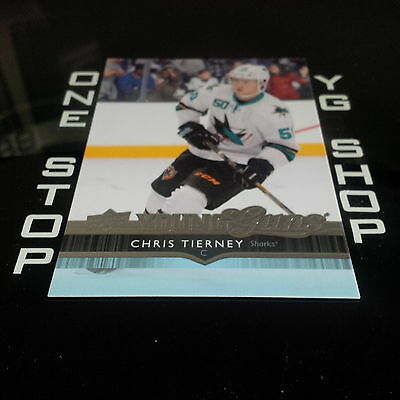 2014 15 Ud Young Guns 240 Chris Tierney Rc Mint +Free Combined S&h