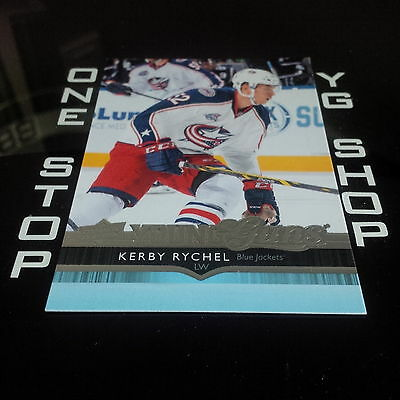 2014 15 Ud Young Guns 499 Kerby Rychel Rc Mint +Free Combined S&h