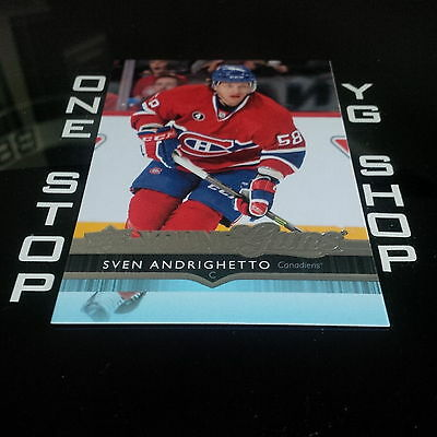 2014 15 Ud Young Guns 493 Sven Andrighetto Rc Mint +Free Combined S&h
