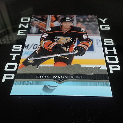 2014 15 Ud Young Guns 491 Chris Wagner Rc Mint +Free Combined S&h