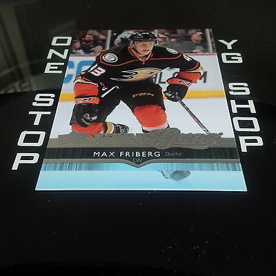 2014 15 Ud Young Guns 487 Max Friberg Rc Mint +Free Combined S&h
