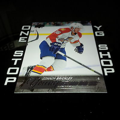 2015 16 Ud Young Guns 249 Connor Brickley Rc +Free Combined S&H