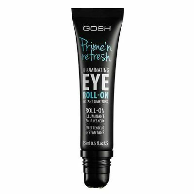 GOSH Prime N Refresh Illuminating Eye Primer Roll On Size 15ml New Authentic