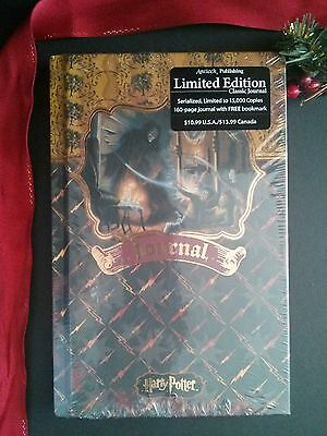 Harry Potter Limited Edition Journal BRAND NEW #1,357 of 15,000 - RARE-