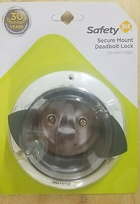 Safety 1st Secure Mount Deadbolt Lock **Free Shipping**