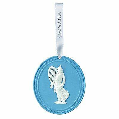 Wedgwood 2016 Annual Ornament, Blue MUSE NEW IN THE BOX