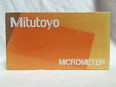 """Mitutoyo 101-119 Outside Micrometer 2""""-3"""" NEW"""