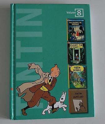 The Adventures of TinTin Volume 8   HB  UK 2007  Compact edition  9781405229012