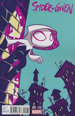 Spider-Gwen #1 Young Variant 2Nd Series