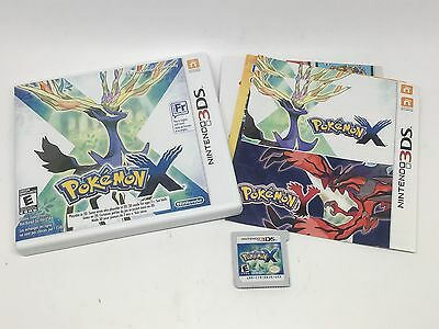 Pokemon X (Nintendo 3DS, 2013) Complete