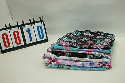 Lot of 7 Sz 2XL Scrubs Womens Clothes Uniform Medical Hospital Nursing Tops