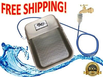 Automatic A&B Co. Auto-Filling Dog Pet Water Bowl connect to garden hose Faucet