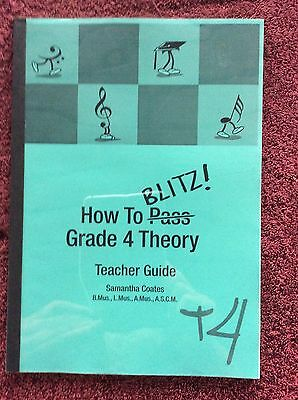 HOW TO (PASS) BLITZ ! GRADE 4 THEORY TEACHERS GUIDE Samantha Coates 2001