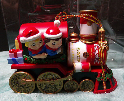 Campbell's ~ Campbell Kids ~ Train Ornament ~ 2000 ~ Christmas ~ New