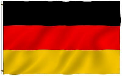 ANLEY German Flag Banner Polyester 3x5 Foot Country  Germany National Flags