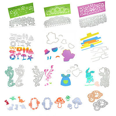 Metal Die DIY Cutting Dies Stencil Scrapbook Album Paper Card Hand Craft Decor