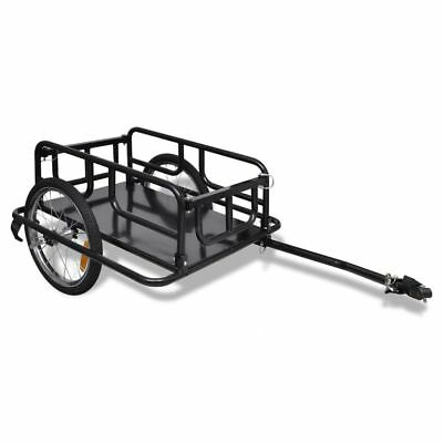 New Bicycle Cargo Bike Trailer Garden Hand Cart Trolley Luggage Stroller Tool