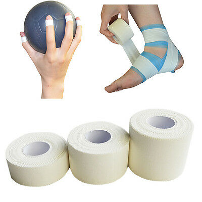 Elastic Adhesive Bandage Sports Rugby Football Physio Wrist Hand Strap Tape New