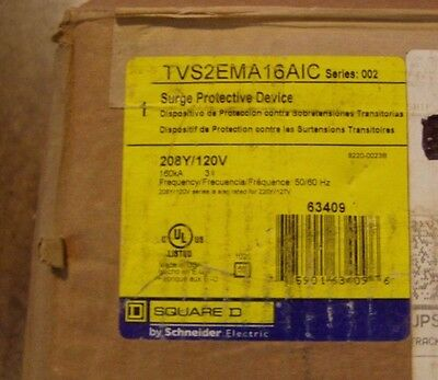 SQUARE D TVS2EMA16AIC Surge Protector TVSS Surge Protective Device
