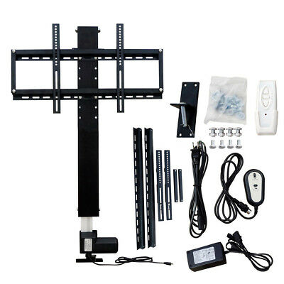 "28"" 700mm Automatic LCD LED TV Lift Stand Wall Mount Bracket W/Remote Controller"