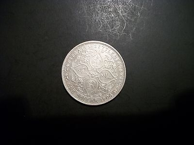 Straits Settlements 1904 1 Dollar Silver large coin foreign
