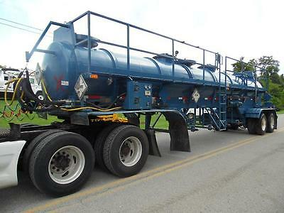 2007 Worley Welding Works Vacuum Lfc37 4100 Gallon Chemical Acid Tank Trailer
